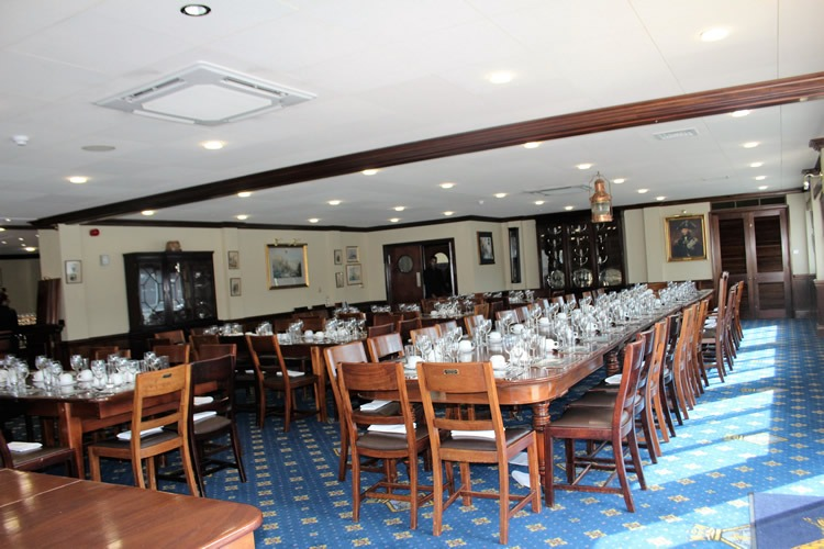 Wardroom at HMS president Tower Hill, St. Katherine's Docks, London Venue
