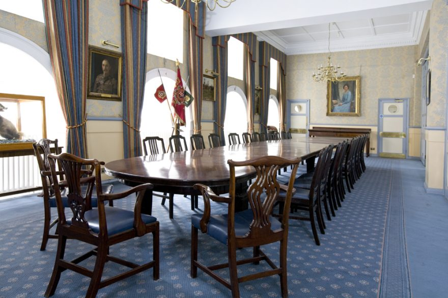 Dining Room, Chancery Lane, Lincolns Inn, Alternative Venues London, Military Venues, Military Locations