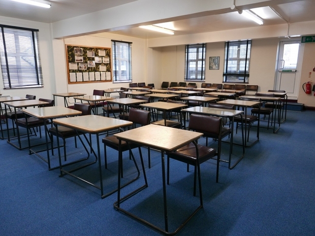 Classroom, Balham, London, Alternative Venues London, Military Venues, Military Locations