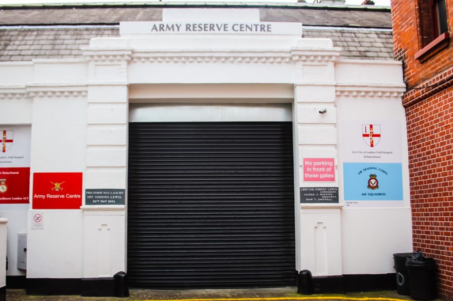 Kensington, Back Entrance, London, Alternative Venues London, Military Venues, Military Locations, Space to Hire, Venues