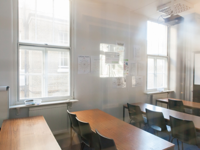 Classroom, Victoria, Rochester Row,  London, Alternative Venues London, Military Venues, Military Locations