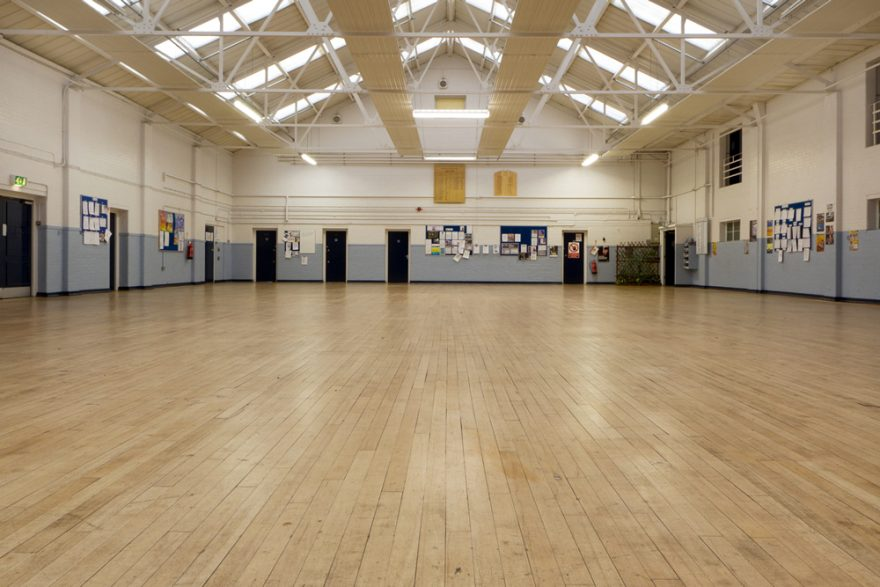 Picture showing the Hall in Barnet Reserve Center
