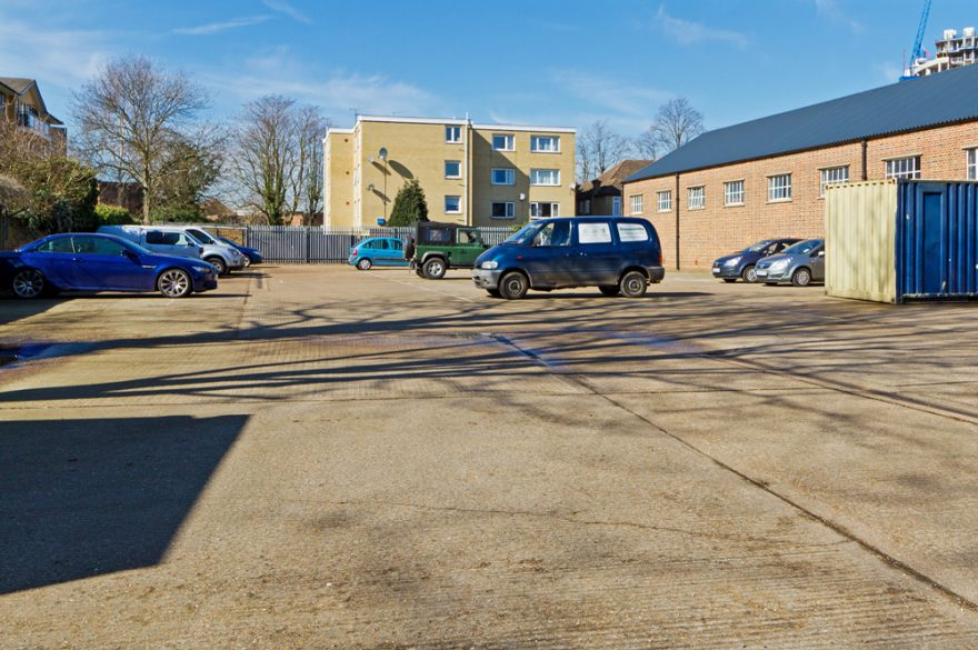 Parking, Croydon, Sydenham Road, London, Alternative Venues London, Military Venues, Military Locations, Space to Hire, Venues