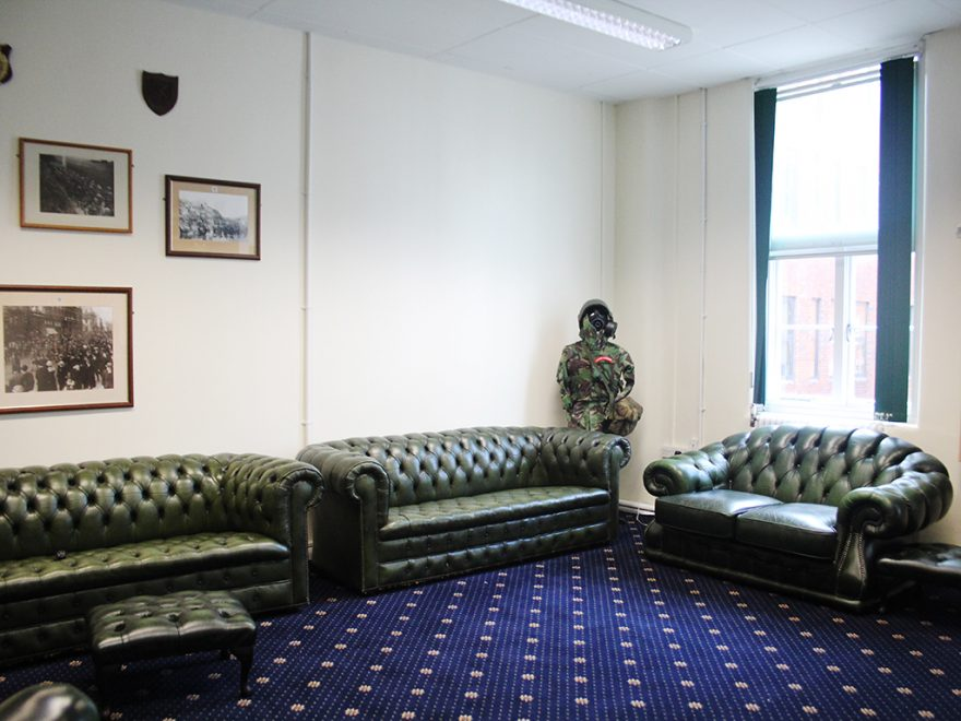 Lounge, Victoria, Rochester Row,  London, Alternative Venues London, Military Venues, Military Locations