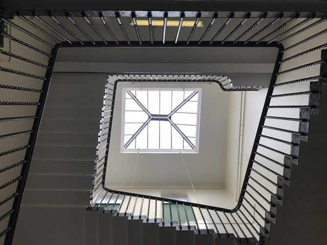 Staircase, Victoria, Rochester Row,  London, Alternative Venues London, Military Venues, Military Locations