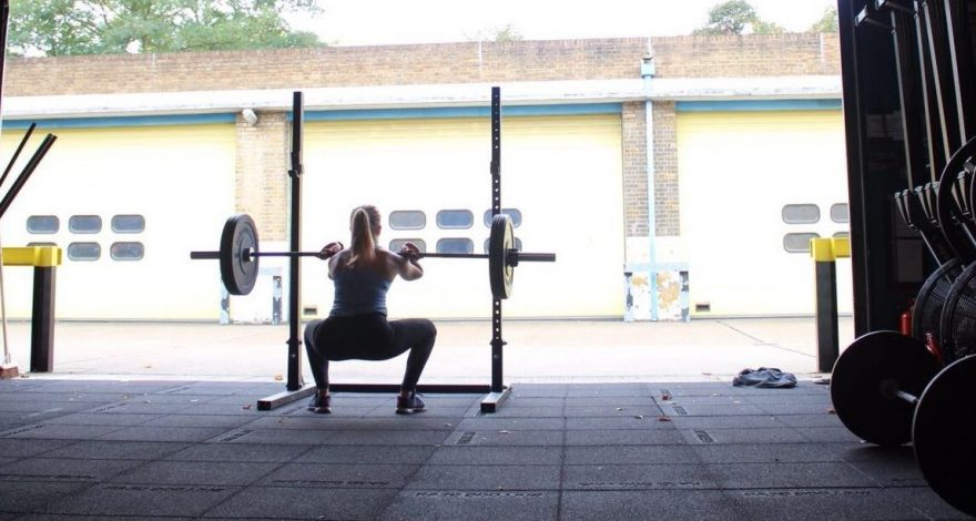 CrossFit Dawn, a small fitness business operating out of our West Ham garage
