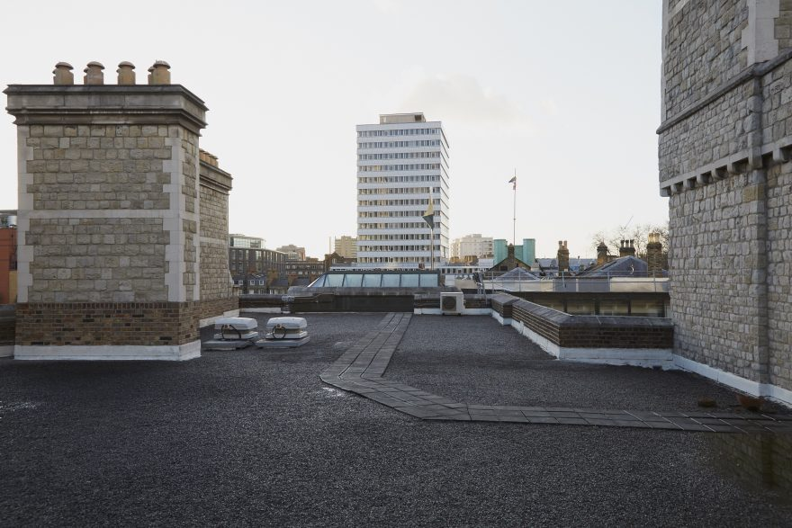 Roof, City of London, Finsbury Barracks,  London, Alternative Venues London, Military Venues, Military Locations, Space to Hire, Venues, Location