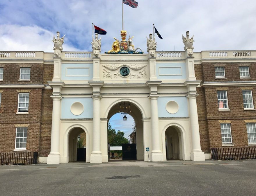 Front Arch at Royal artillery barracks