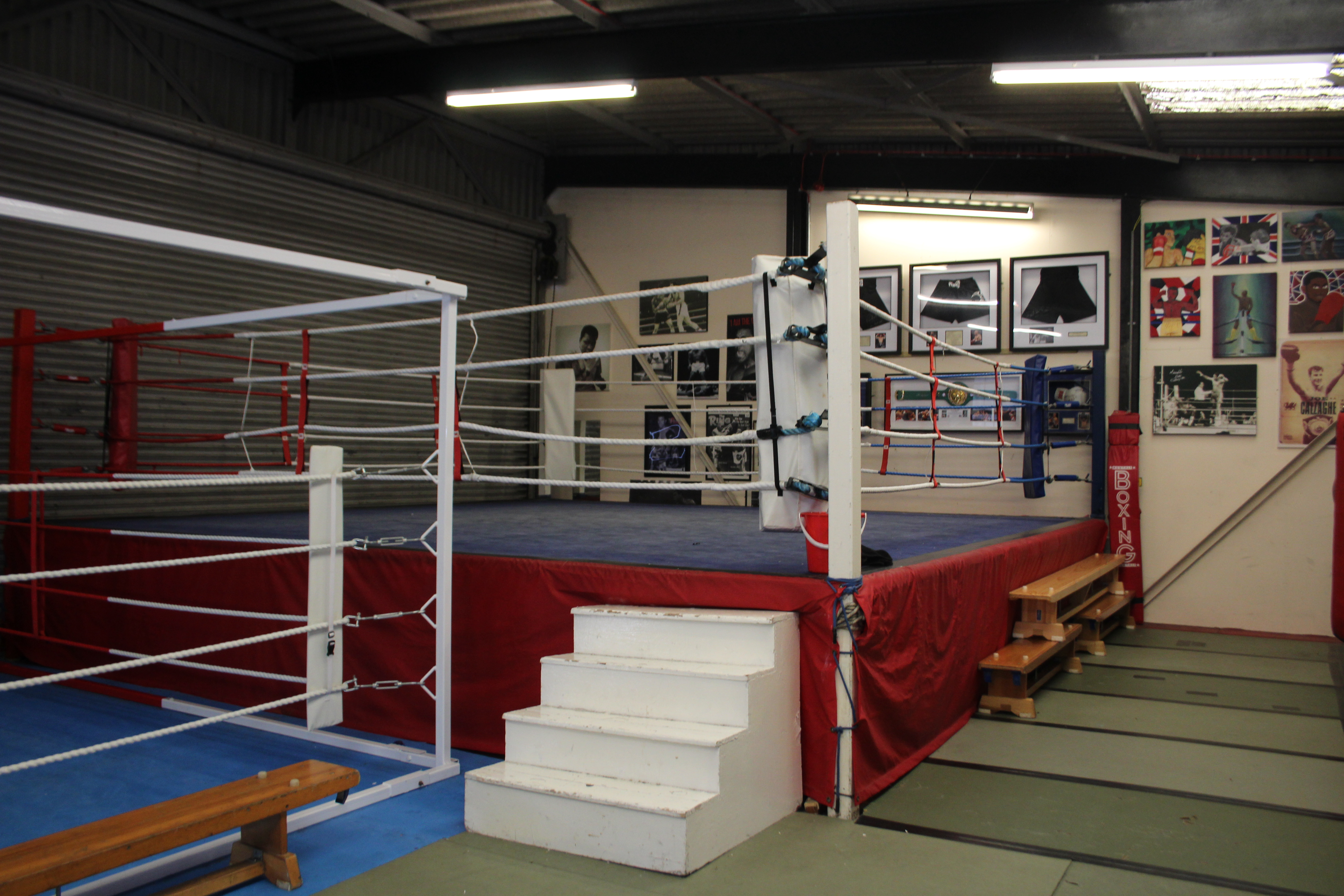 Grove Park Boxing Ring