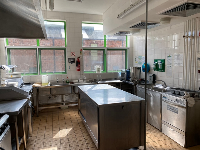 Bexleyheath, London, Alternative Venues London, Military Venues, Military Locations, Space to Hire, Location, London, Filming Location,  Kitchen