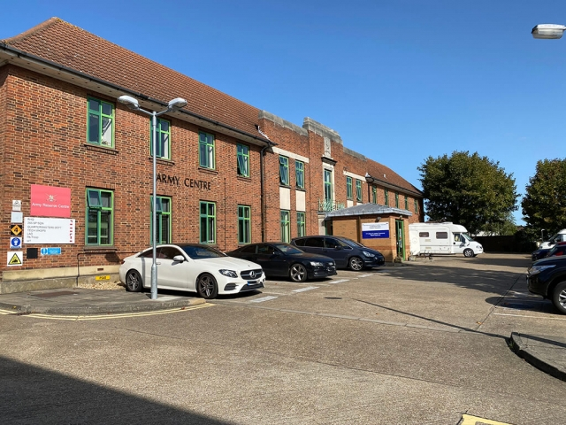Bexleyheath, London, Alternative Venues London, Military Venues, Military Locations, Space to Hire, Location, , London, Filming Location, photoshoot, building facade